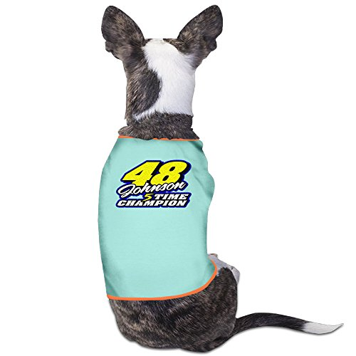 (Jimmie Johnson48 5 Times Champion Puppy Clothes Pet Supplies)