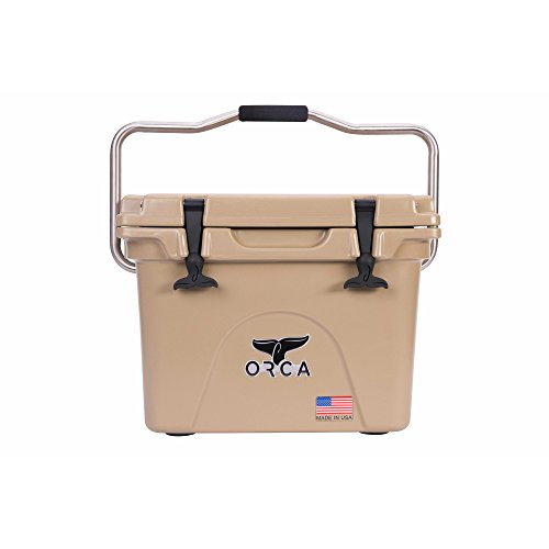 Price comparison product image ORCA Extra Heavy Duty Cooler, Tan, 20-Quart