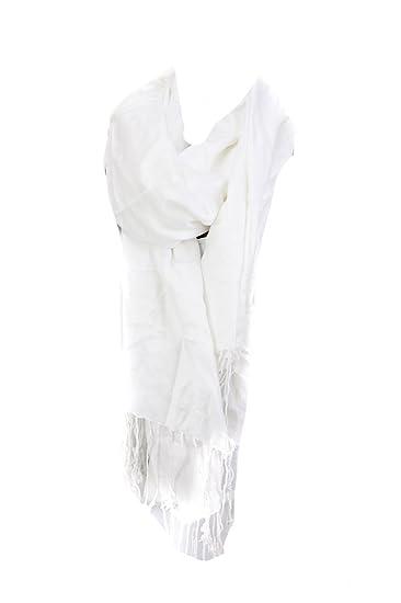 493bbf14c8185 Macy's Lightweight Oversized Pashmina Wrap Scarf, White at Amazon ...