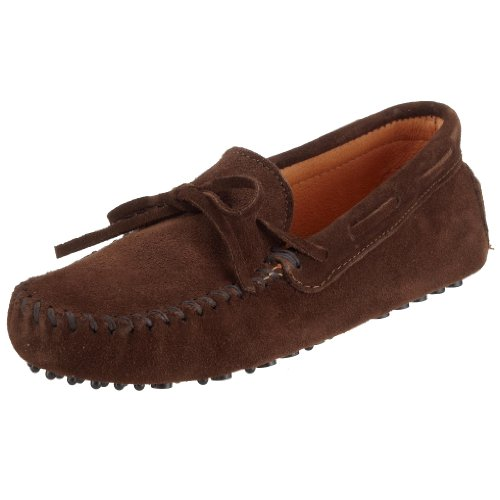 Minnetonka Men's Driving Moc Moccasin,Chocolate Suede,8 M US