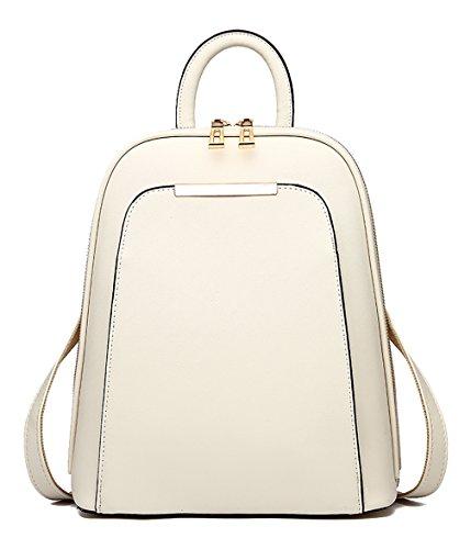 Respeedime - Bolso mochila para mujer rosa (b) Medium blanco
