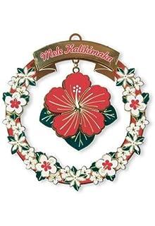 Honu Turtle Island Heritage Snorkeling Santa Hawaiian Island Style Holiday 3 pack Collectible Metal Ornaments Mele Sea Life