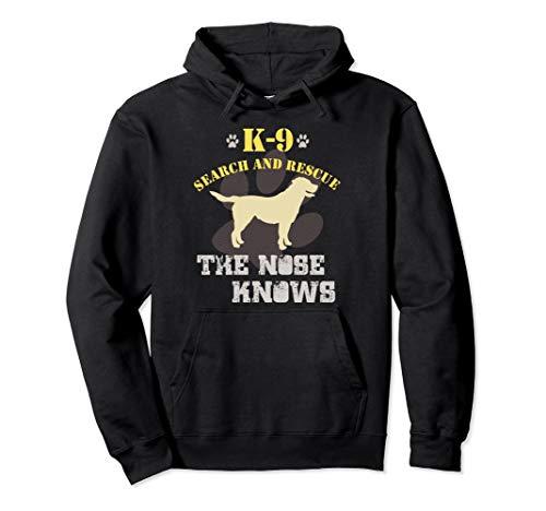 K9 Search and Rescue Hoodie | Labrador Retriever Sweatshirt