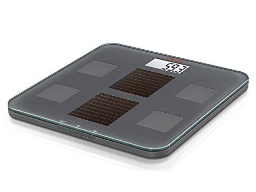 Soehnle Solar Fit Powered Bathroom Scale, Grey