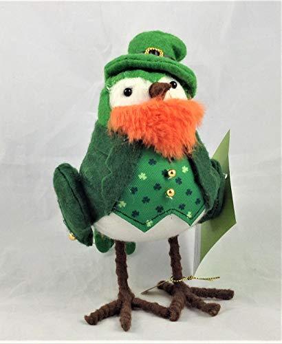 (Featherly Friends Spritz - Spring/St. Patrick's Day Fabric Bird: Goldy)