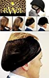 Real Women Ride No Knot Hair Net,Dark Brown,One Size