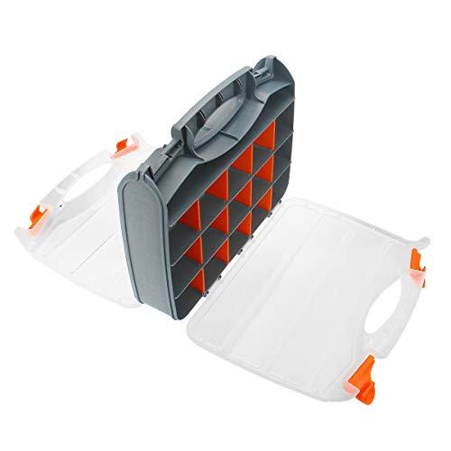 Plastic Assortment Storage Box Detachable Crafts Screws Tools Parts Container Organizer 3 Sizes
