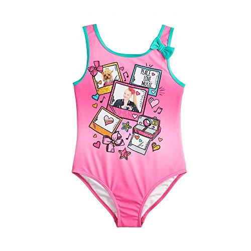 Nickelodeon Girls JoJo Siwa One Piece Fashion Swimsuit
