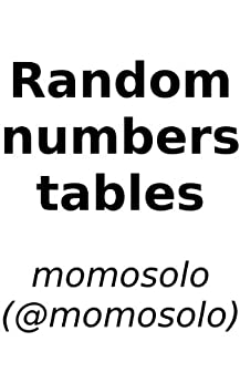 Random numbers tables 1 momosolo for Random number table 1 99