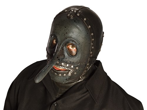 Slipknot Chris Mask, Grey/Green, One Size