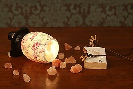 Arbeit Tischleuchte Tischlampe Salzkristalllampe Duftlampe Schlafzimmer Nachttischlampen Wohnzimmer Den Warmen Minimalistischen Korean Kreativen Lampe