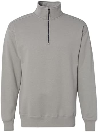 Hanes Mens Nano Quarter Zip Fleece Jacket