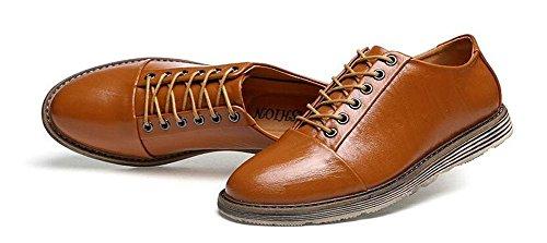 SHIXR Les chaussures de sport pour hommes portent la bouche superficielle avec des chaussures d'escalade , brown , 39