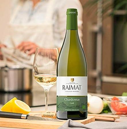 Raimat | Vino Blanco Raimat Castell Chardonnay Ecologico 2019 | MEDALLA DE ORO MUNDUS VINI - 2018 | D.O. Costers del Segre (1 Botella)