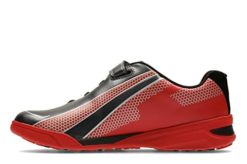 Clarks  Award Leap Jnr, Chaussures de trail pour garçon rouge Red
