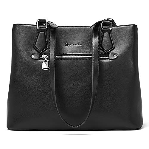 BOSTANTEN Women Handbag Genuine Leather Shoulder Bag Soft Designer Top Handle Purses
