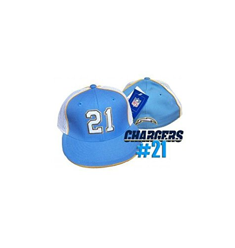 LaDainian Tomlinson #21 San Diego Chargers Fitted Size 7 Side Mesh Panel Hat -