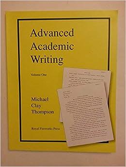 manual academic writing