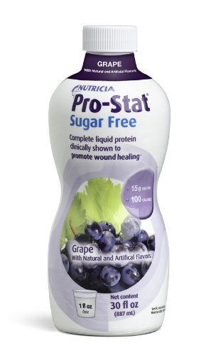 Pro-Stat Sugar Free, Grape, 30 fl oz (Case of 6 bottles) by Nutricia