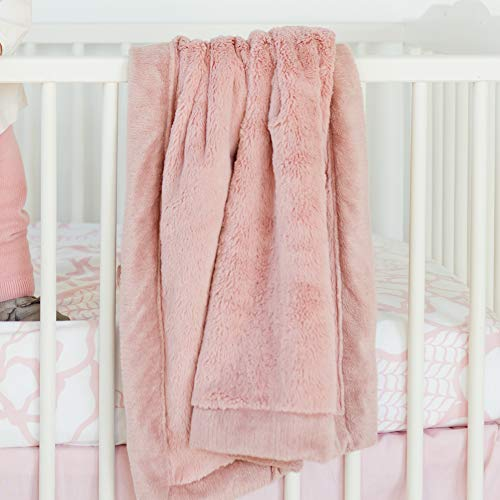 (Saranoni Receiving Blankets for Babies Super Soft Boutique Quality Lush Luxury Baby Blanket (Ballet Slipper Pink, Receiving Blanket 30