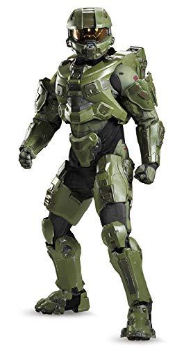 Disguise Men's Halo Master Chief Ultra Prestige Costume, Green, Medium for $<!--$311.99-->
