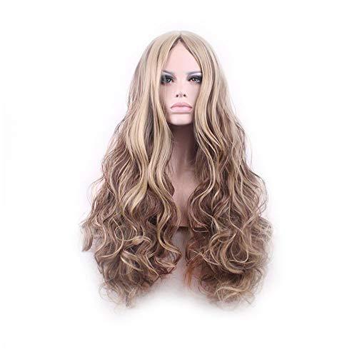 Wig High Temperature Silk Fashion Big Wave Long Hair Curls -