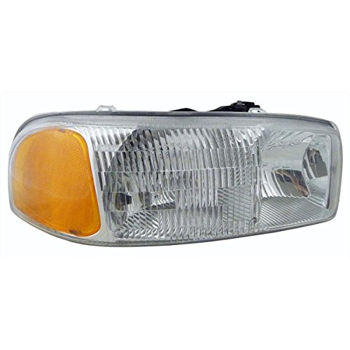 (Gmc Sierra 99-06 Headlight - Right Headlamp New Lens & Housing)