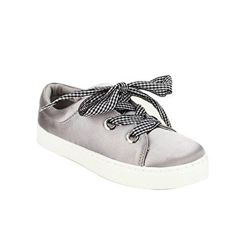 Baskets Chaussures Métal Femme Argenté Argentées Cendriyon Links gwAdIwq