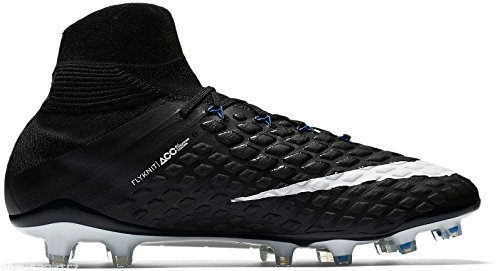 - Men's Nike Hypervenom Phantom III Dynamic Fit (FG) Firm-Ground BLACK/WHITE-GAME ROYAL Size 8.5