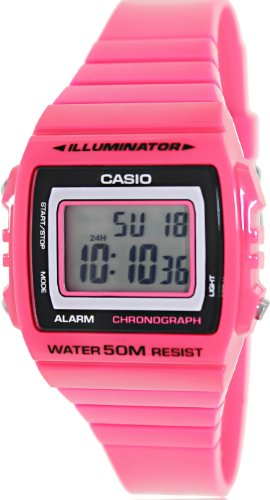 Casio Classic Pink Watch W215H 4A