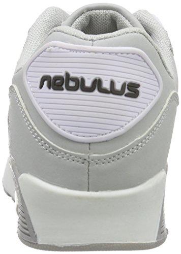 Nebulus Damen Liam Hallenschuhe Mehrfarbig (grey-white)