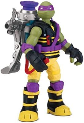 Teenage Mutant Ninja Turtles - Muñeco de Donatello con Pistola de mocos [Importado]