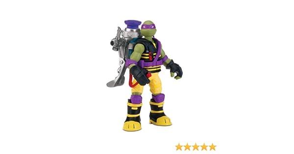 Teenage Mutant Ninja Turtles - Muñeco de Donatello con Pistola de mocos [Importado]