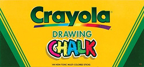 Crayola 510400 Colored Drawing Chalk ()
