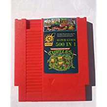 500 in 1 Nes Game Cartridge Video Game Multi 72 pin 8 bit Super Games Turtles(shipping from china)