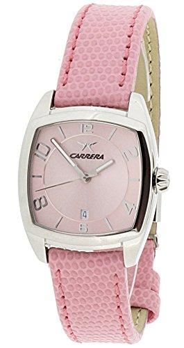 Carrera Wrist Watch (CARRERA Pink Leather Watch-cw54582.103031)