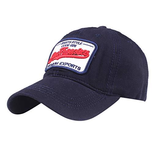 Unisex Baseball Cap Vintage Cotton Washed Distressed Hats Adjustable Dad-Hat Jeans Baseball Cap for Men and Women