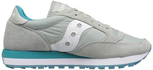 Saucony Originals Saucony Jazz Original Women, Damen Sneakers Light Grey/Green