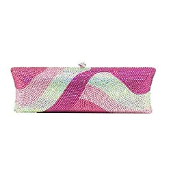 Handmade Designer Crystal Diamante Clutch
