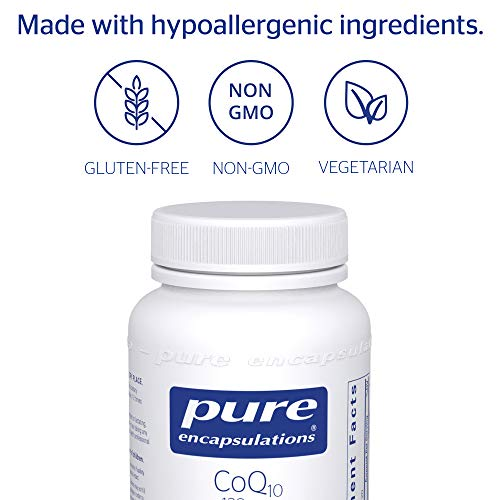 Pure Encapsulations - CoQ10 120 mg - Hypoallergenic Coenzyme Q10 Supplement - 120 Capsules by Pure Encapsulations (Image #3)