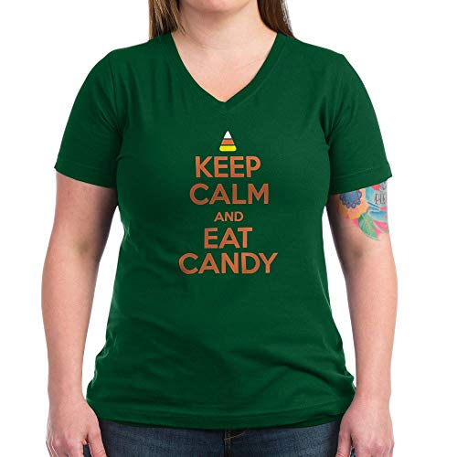 CafePress T Shirt Womens Cotton V-Neck -