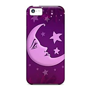Diycase Awesome Design Nanou Moon case cover For Ob7fNGbbblX Iphone 5c