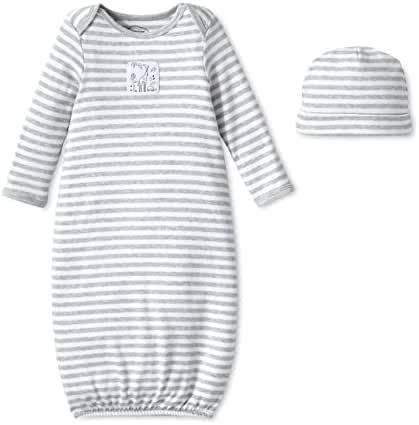 Lamaze Baby Organic Essentials 2 Piece Hat and Gown Set