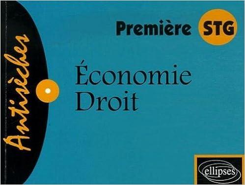 Livres gratuits en ligne Economie-Droit 1e STG pdf, epub