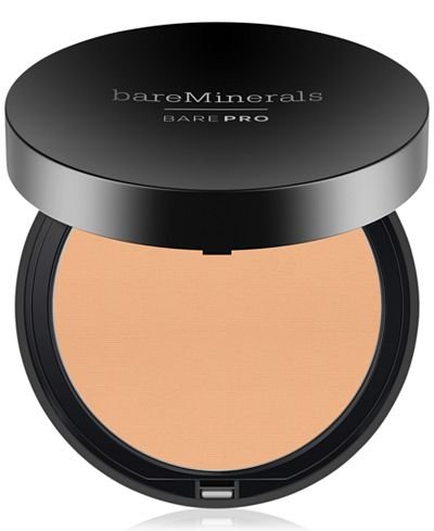 BareMinerals Bare Escentuals BarePro High- Performance Wear Powder Foundation, 0.34 oz (06 Cashmere)