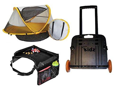 Kidco PeaPod Travel Set, Sunshine by KidCo