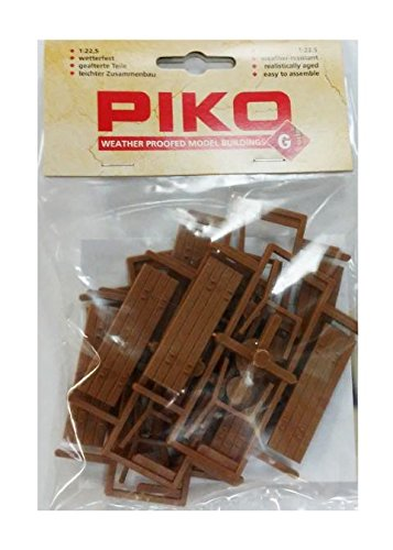 PIKO G SCALE MODEL TRAIN BUILDINGS - PARK BENCHES - 62285 by Piko