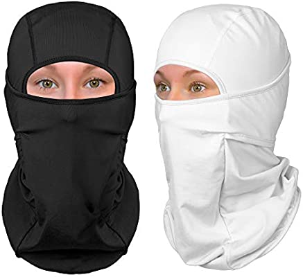 Standard//Nordic//Arctic The Friendly Swede Balaclava Face Mask Ski Mask and Winter Sports Headwear Neck Gaiter and Motorcycle Helmet Liner for Men and Women 1-Pack or 2-Pack -