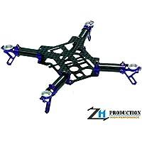 ZealHeli CNC Quadcopter Kit (Blue) - Blade Nano QX FPV