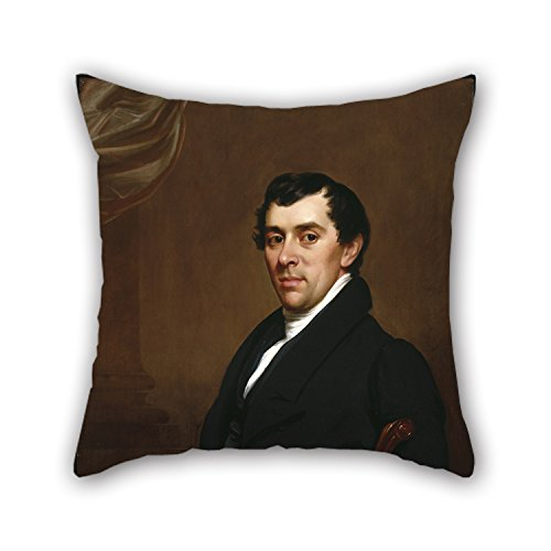 20 X 20 Inches / 50 By 50 Cm Oil Painting Samuel Lovett Waldo - David Leavitt Throw Cushion Covers Twin Sides Ornament And Gift To Relatives Coffee House Indoor Pub Father Bench (Happy Halloween Waldo)